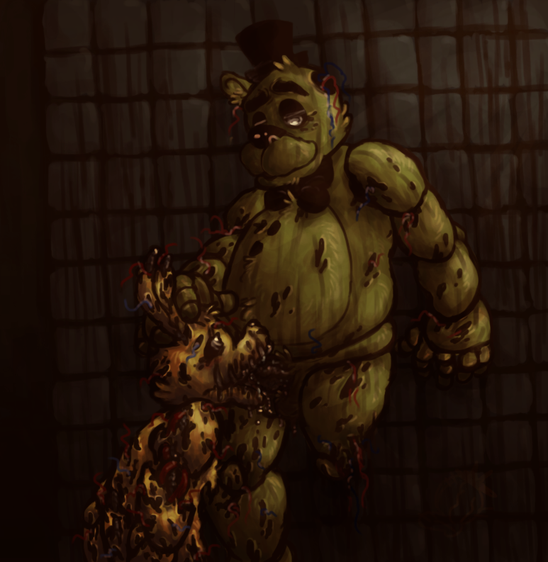 golden five at nights anime freddy Bendy and the ink machine pictures