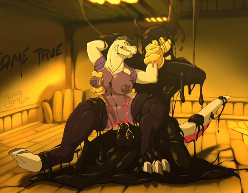 bendy the gay and porn machine ink Devil may cry 5 lady censored