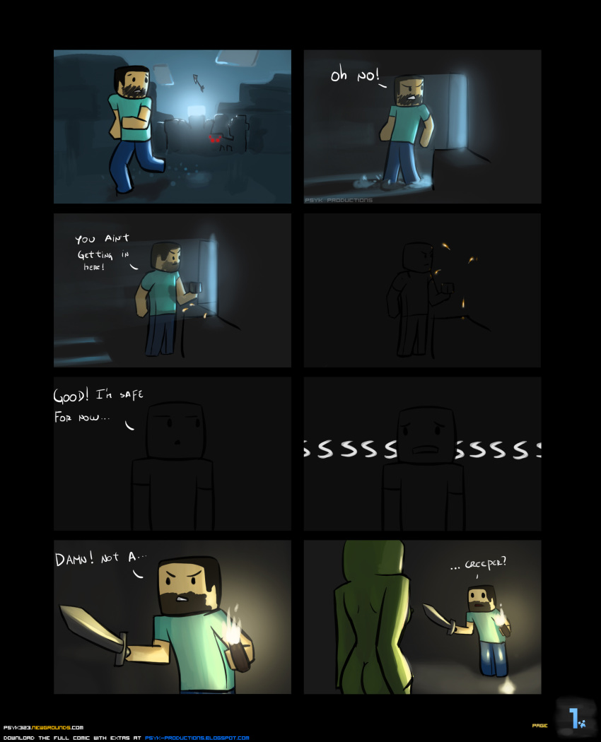 in is how minecraft tall steve Five night at freddy xxx