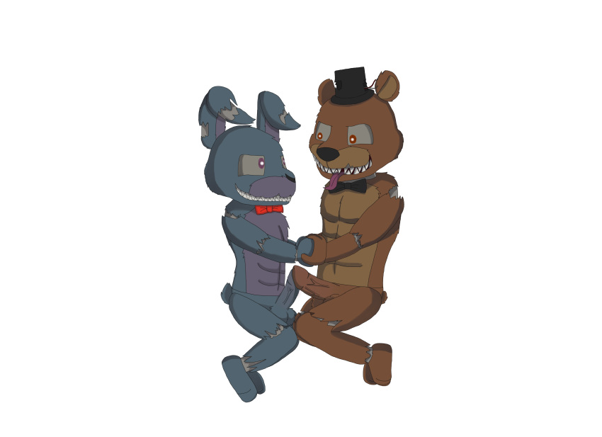 s five nights freddy at 2 Highschool of the dead girls
